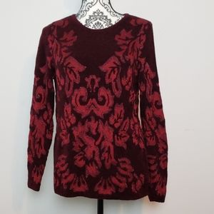 Chico's damask sweater